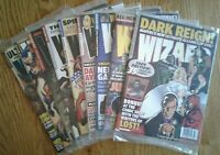 WIZARD COMICS MAGAZINES of 2009 w Platinum Edition Issues, specific covers shown