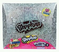Shopkins NEW Mystery Edition 3.0 Includes 40 Exclusive Shopkins & 5 Backpacks!