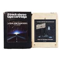 8-Track Soundtrack Lot: Star Wars The Empire Strikes Back, Close Encounters