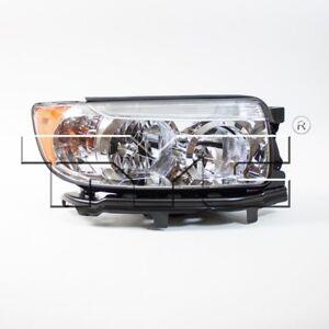 Passenger Right Halogen Headlight Assembly TYC for Subaru Forester 2006-2008