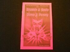 Scotch & Soda or Dime & Penny Book, (This is the one to have, 18 effects)