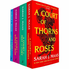 A Court of Thorns 4 Books Collection Set By Sarah J. Maas Paperback NEW
