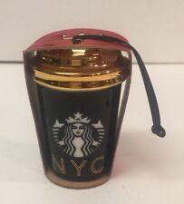Starbucks Ornament New York NYC Graffiti 2016 NEW