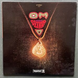 John Coltrane Vinyl LP 'OM' - Impulse! 1968