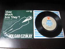 Holger Czukay How Much UB 40 Food for Japan Split Promo only Vinyl 7 inch Single