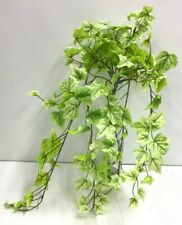 "Garden Ivy Greenery Hanging Vine Bush~Green,Pale Green~24""~Silk/Artificial"