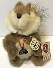 J.B. Bean & Associates Boyds Bears Merle B. Squirrel Plush Small vintage