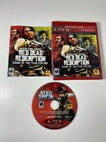 PS3 Red Dead Redemption Game of the Year Edition With Manual