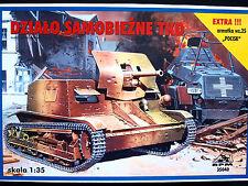 SELF PROPELLED GUN TKD, RPM 35040 , SCALE 1/35