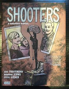 Shooters A Graphic Novel Hardcover Vertigo Comics Trautmann Jerwa Lieber