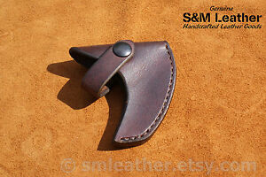 Cold Steel Frontier Hawk Tomahawk Brown Leather Sheath Cover Only