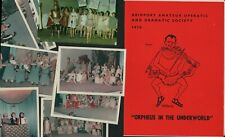 More details for bridport amateur operatic society 1970 orpheus in the underworld photos  e3.286