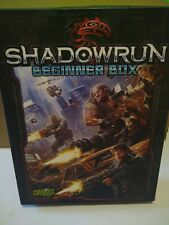 SHADOWRUN BEGINNER BOX SET By Catalyst Game Labs. Like New.