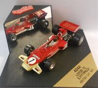 Quartzo 1/43 Scale - Q4044 LOTUS 72 E.FITTIPALDI BRITISH GP 1971