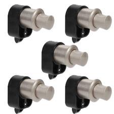 5X Push Button Catch Lock Cupboard Door Cabinet Knob Campervan Caravan Motorhome