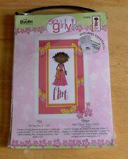 Bucilla Plaid So Girly FLIRT Counted Cross Stitch Kit #43936 NEW