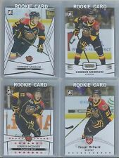 CONNOR MCDAVID 4 CARD ROOKIE LOT 2015 LEAF ITG TOP PROSPECT & NATIONAL VIP RC
