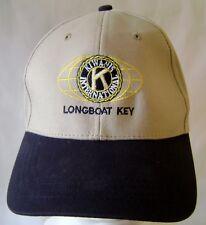 Longboat Key Kiwanis International Baseball Cap Hat Sarasota Barrier Island