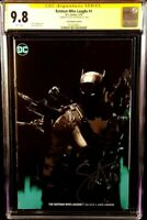 BATMAN WHO LAUGHS #1 CGC SS 9.8 JOCK VIRGIN VARIANT SNYDER GRIM KNIGHT DC COMICS