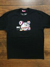 Rare Vintage ComplexCon Takashi Murakami Black Tee Shirt Size XL Bape Supreme