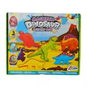 Paint & Make Your Own Dinosaur Magnets Set Kit KidsToys Creative DIY Gift Bday