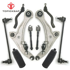 10 Pc Suspension Kit for Nissan Altima Control Arms Tie Rod Ends Sway Bar Ends