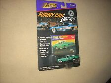 JOHNNY LIGHTNING FLYING DUTCHMAN '68 DODGE CHARGER FUNNY CAR, SEALED, DIE CAST