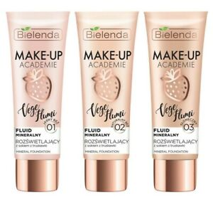 Bielenda Make Up Academie Vege Flumi Illuminating Mineral Foundation 30g