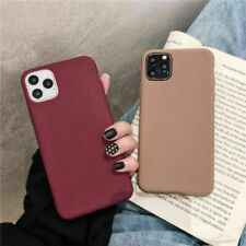 For Apple Silicone Case iPhone X XR XS MAX 6 8 7 11&Plus Slim TPU Soft Rubber UK