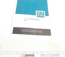 GM Part #15603615 Decal - Protector Decal - Prepaid Shipping