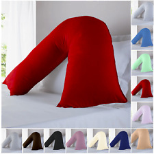 V Shaped Pillow Case Cover Pregnancy Maternity Orthopedic Support Pillow Covers