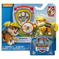 Paw Patrol Action Pack Pup  Badge, Rubble