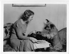 Jeanette MacDonald w/dog VINTAGE Photo
