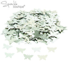 Silver Butterfly Table Confetti / Sprinkles - 14g - Wedding or Party Decoration