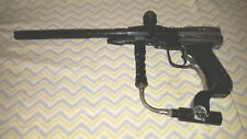 2 tone custom painted Paintball Gun black silver gun with barrel