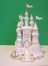 LENOX SUMMER DREAMS SAND CASTLE sculpture NEW in BOX with COA