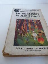 "la vie secrète de jean galmot ""rhum"" blaise cendrars (cboi04)"