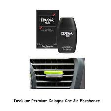 Premium Cologne Car Air Freshener Drakkar 3 Pack