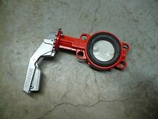 """Buracco 923B-80 Hand Operated 3"""" Wafer Type Butterfly Valve, New"""