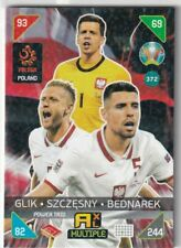 PANINI ADRENALYN XL EURO 2020 - 2021 KICK OFF CARD N. 372 POLAND POWER TRIO