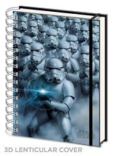 Official Star Wars 3D Lenticular Stormtrooper Notepad Notebook Jotter A5 Gift