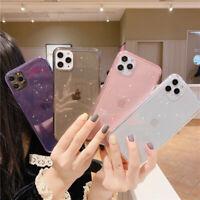 TPU Glitter Stars Phone Case Cover for iPhone 11 Pro Max XR Xs X 8 7 Plus SE2020