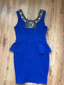Lipsy Dress In Blue, Brand New Size 12 UK.