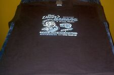 Ben Dover's Garage &Service Station Funny T-shirt Large Brown Free USA Shipping!