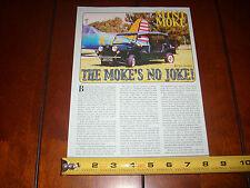 1965 MINI MOKE - ORIGINAL 2001 ARTICLE