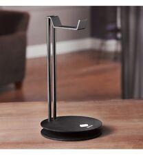 Solid Base Pro Aluminum Desktop Headphones Stand Hanger for Beats DNA Bose BLACK