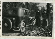PHOTO ANCIENNE - VINTAGE SNAPSHOT - VOITURE PEUGEOT 201 AUTOMOBILE - CAR 1934