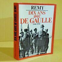 Dix Ans avec DE GAULE 1971