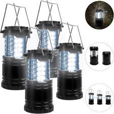 4x Lampes de camping 30 LED Lanterne Télescopique pour Camping Randonnées Pêche