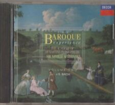 C.D.MUSIC F430   THE BAROQUE  EXPERIENCE : J.S.BACH  VOLUME TWO  CD